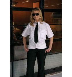 Captain Security Ladies Shirt Short Sleeves