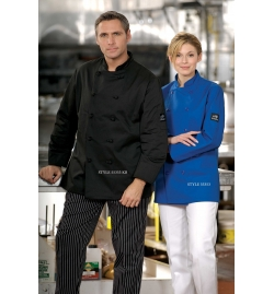 Coloured Chef Coats Short Sleeve
