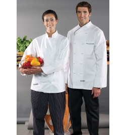 Chef Coat 100% Cotton With Knot Buttons
