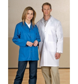 ESD Unisex Counter Coat with 3 Pocket