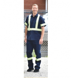 High Visibility Men's Cargo Work Pants