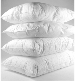 Poly Fill Cascade Pillows