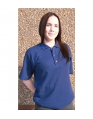 Snap Placket Food Service Polo