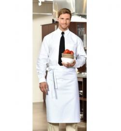 Bistro Apron without Pockets - 100% Polyester