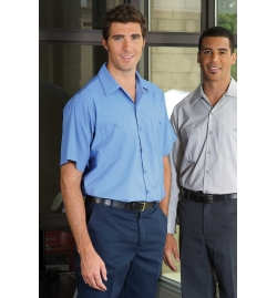 Men's Industrial Poly/Cotton Work Shirt (Long Sleeves)