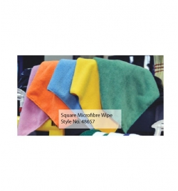 Square Microfibre Wipe