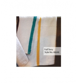 Full Terry Cotton Bar Wipes - Striped