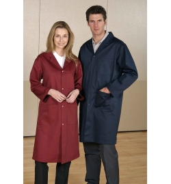 Long Coat Twill 3 PKT Snap Closure