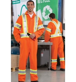 Safety Coverall 4 inch Reflective Tape 3M OR