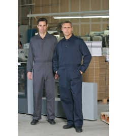 Action Back Twill Coverall