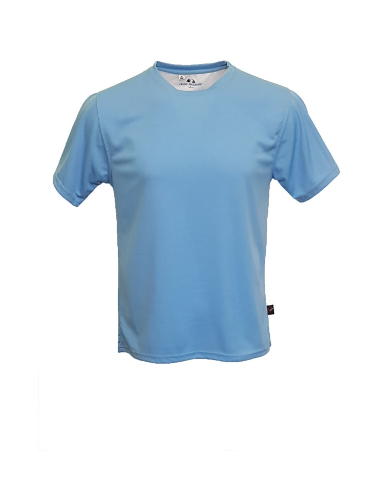 Honeycomb t shirt with moisture wicking 100 polyester for Thick material t shirts