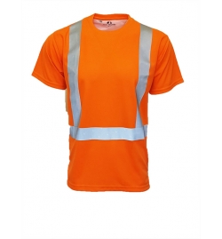 All Purpose High Visibility Wicking Short Sleeve