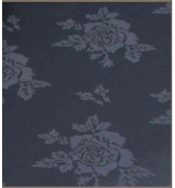 Damask Overall Rose Pattern Spun Filament Polyester
